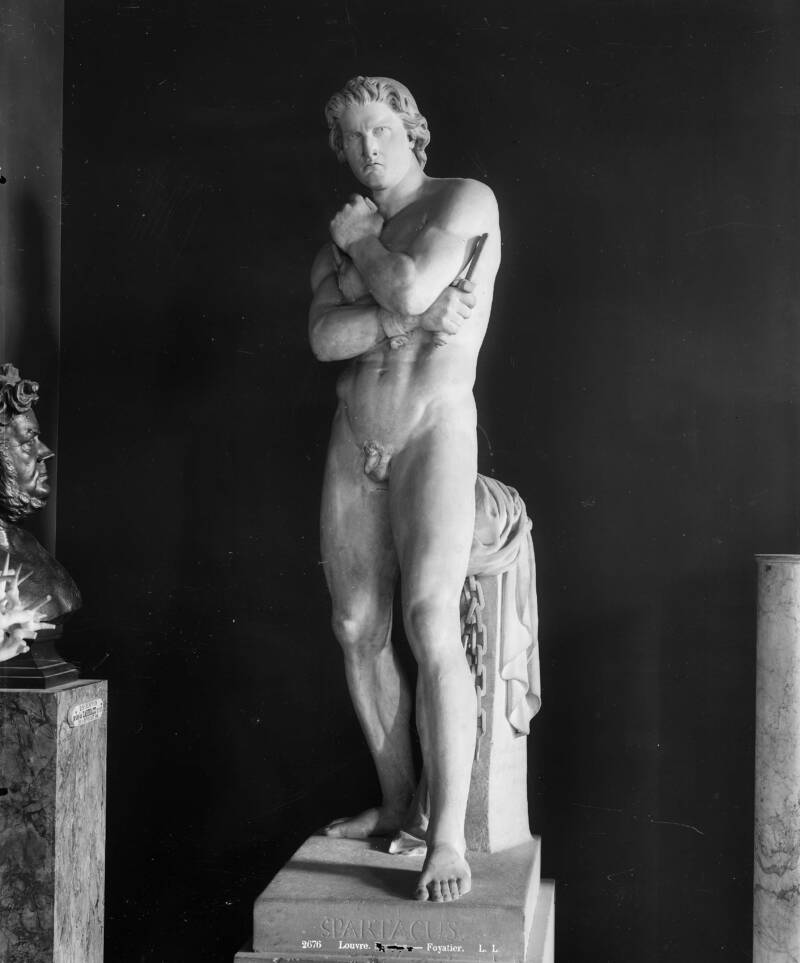 Marble Statue Of Spartacus