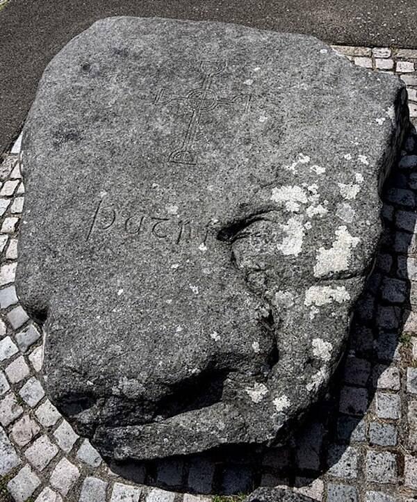 St Patrick Gravestone