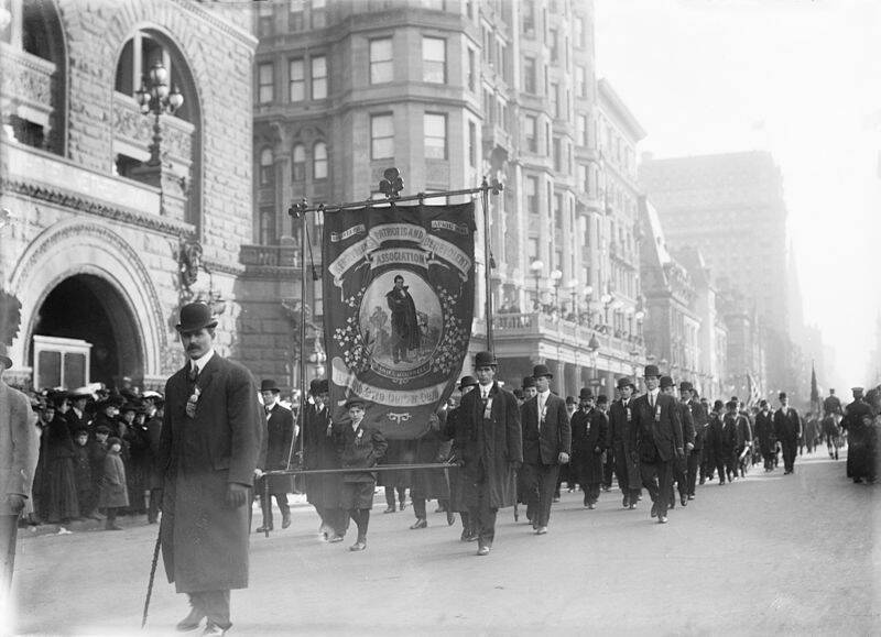 St Patrick Parade In New York