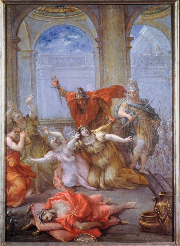 The Assassination Of Caligula And Family