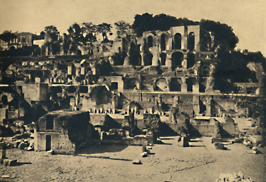The Ruins Of Caligula's House