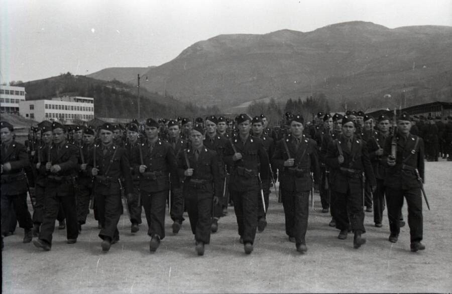 Ustaše Black Legion Troops