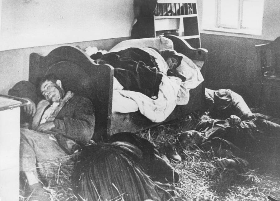 Serbian Family Killed During World War 2