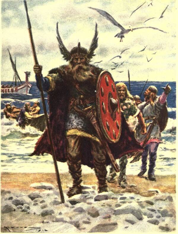 Vikings Landing In America