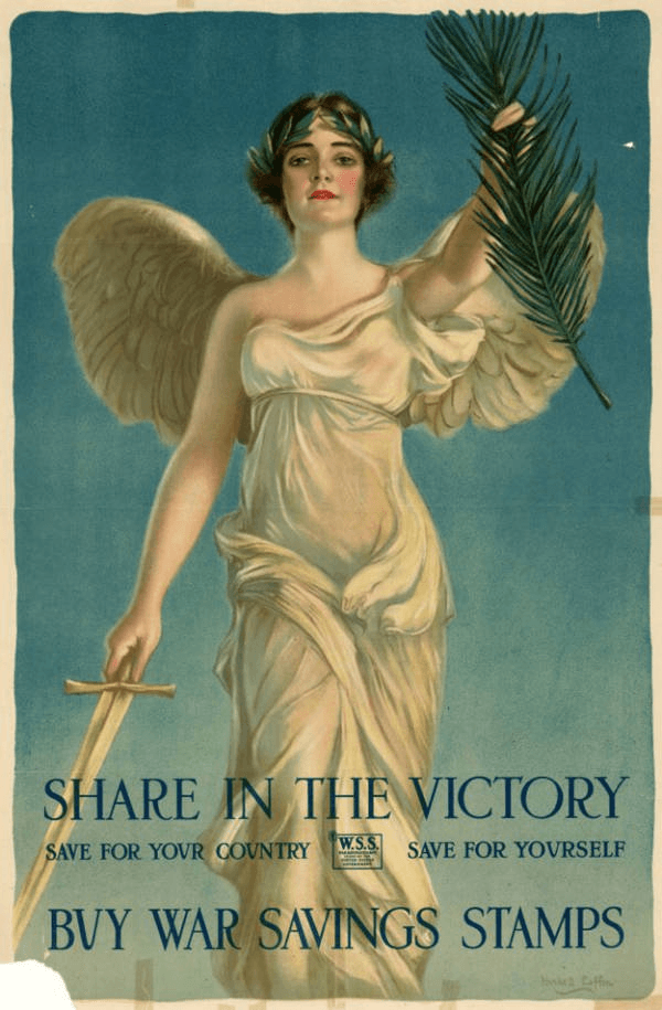 War Bonds Ad Featuring An Angel