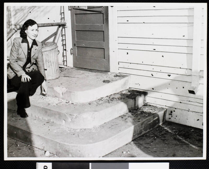 Billie Hall After The Battle Of Los Angeles