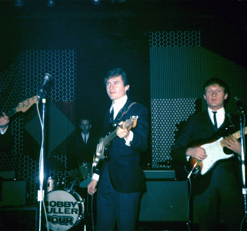 Bobby Fuller Performing On Guitar