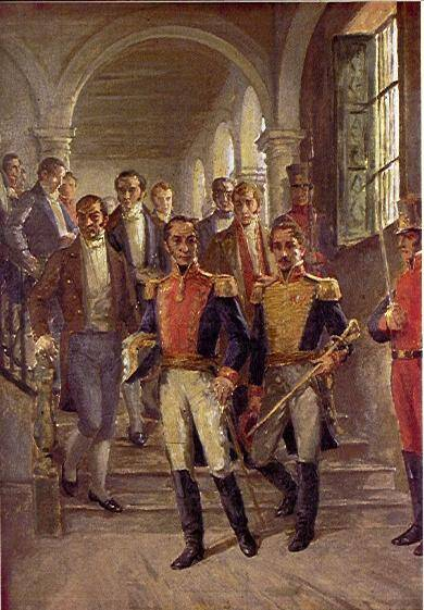 Bolivar And Francisco De Paula Santander