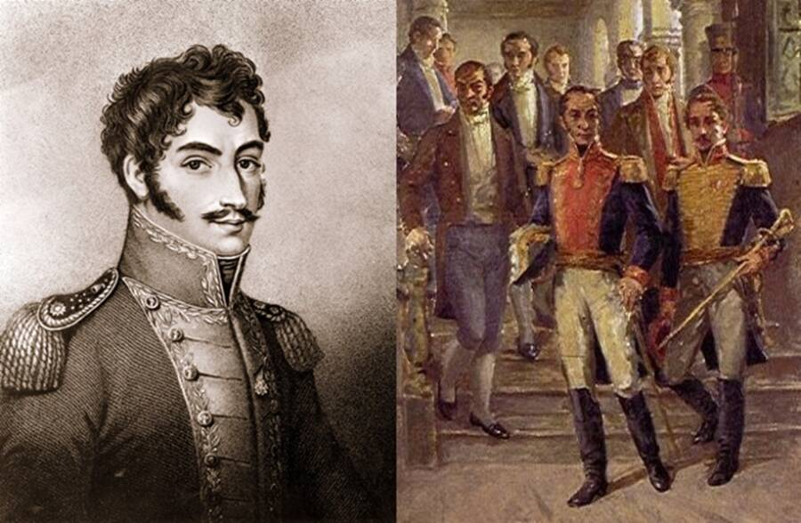 Bolivar And His Vice President