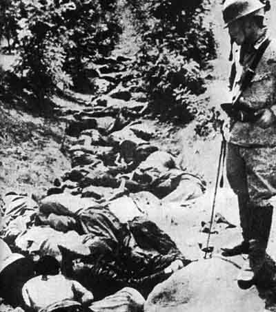 Chinese Killed By Japanese Army