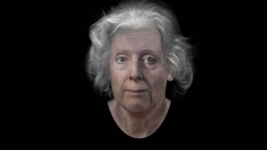 Digital Reconstruction Of Lilias Adie's Face