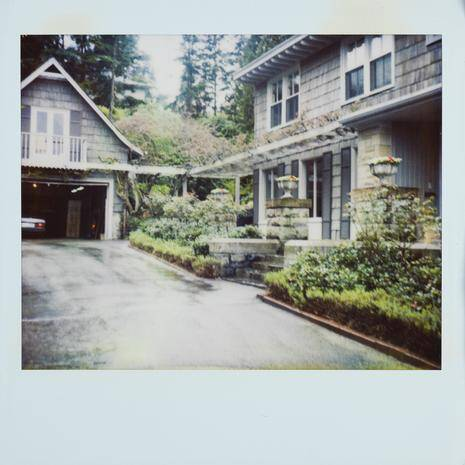 Driveway House And Greenhouse Of Kurt Cobain