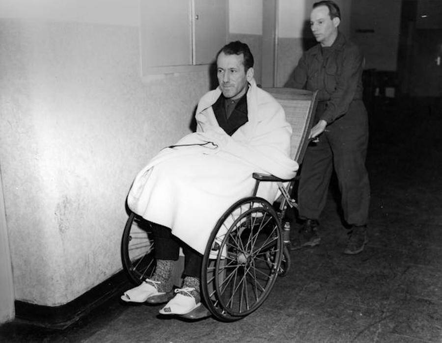 Ernst Kaltenbrunner In Wheelchair