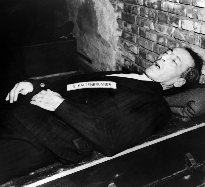 Ernst Kaltenbrunners Dead Body