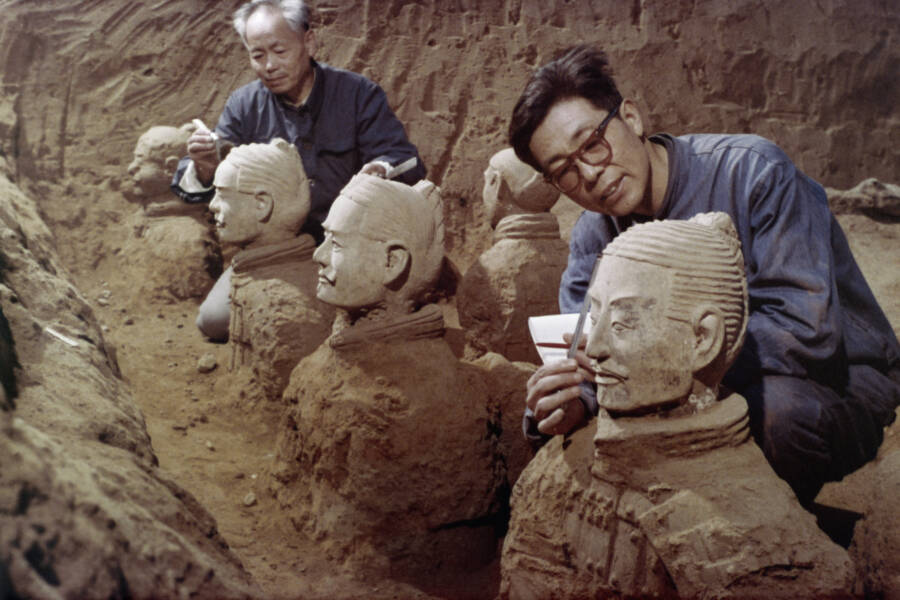 Excavating The Terracotta Army