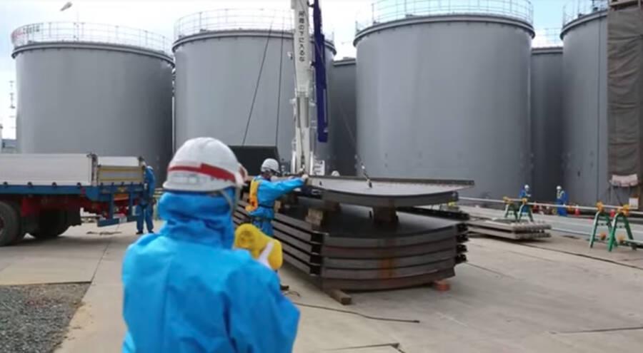 Fukushima Water Tanks