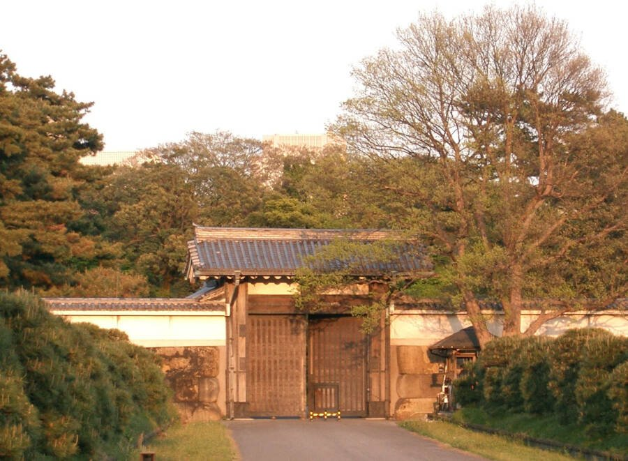 Hanzo Gate At Tokyo Imperial Palace