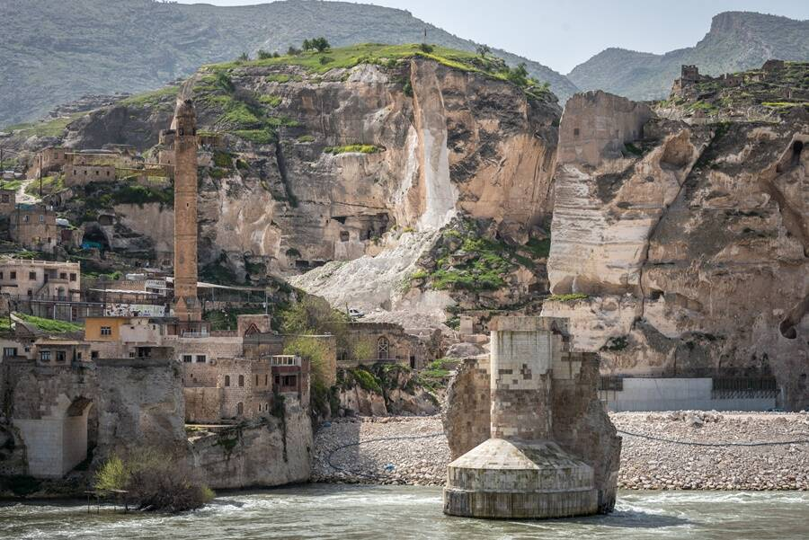 Hasankeyf On The Tigris River