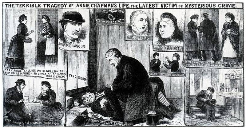 Illustration About Annie Chapman's Murder