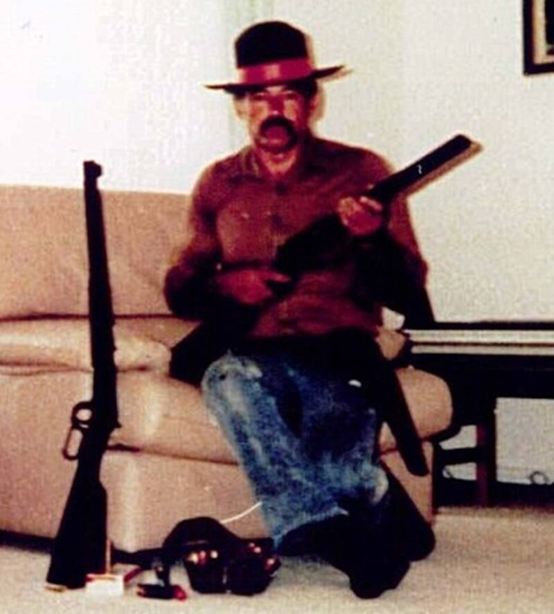 Ivan Milat With Guns