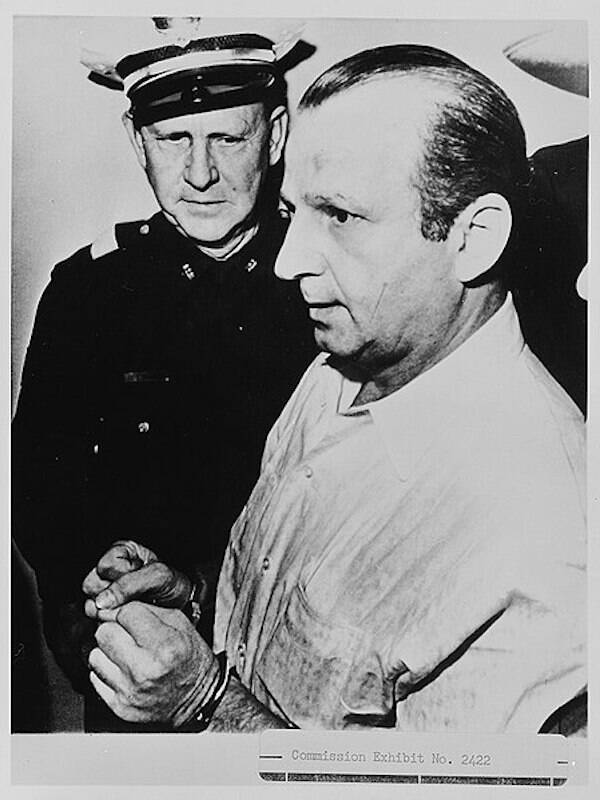 Jack Ruby Under Arrest