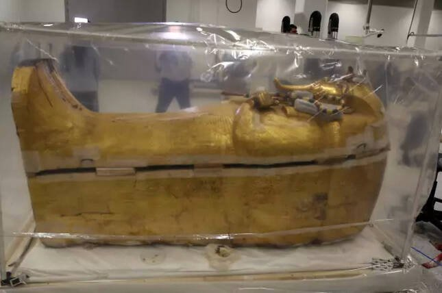King Tutankhamun's Coffin