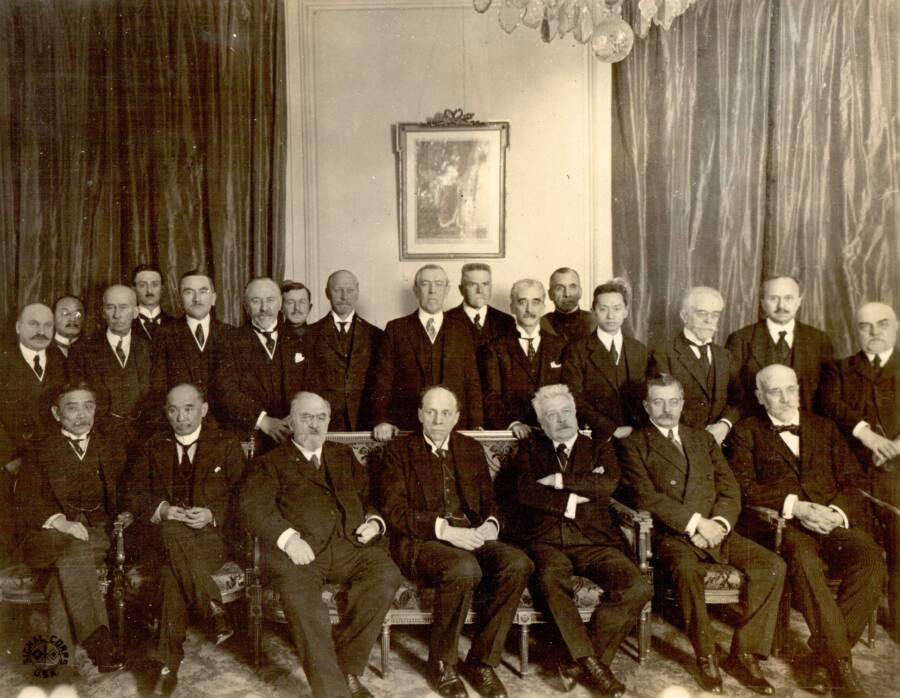League Of Nations Commission