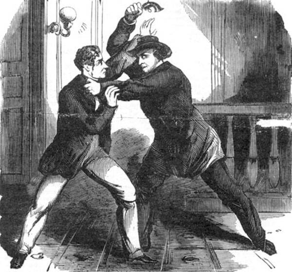 Lewis Powell Attacking Frederick Seward