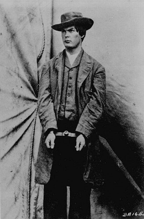 Lewis Powell In Wrist Irons
