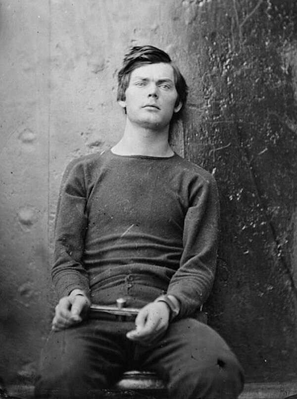 Lewis Powell Prison Portrait