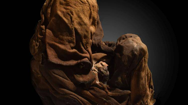 Mummy Of Sacrificed Child