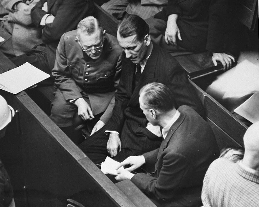 Nuremburg Trial Defendants