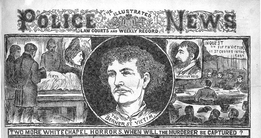 Police News Illustrated Of Stride's Murder