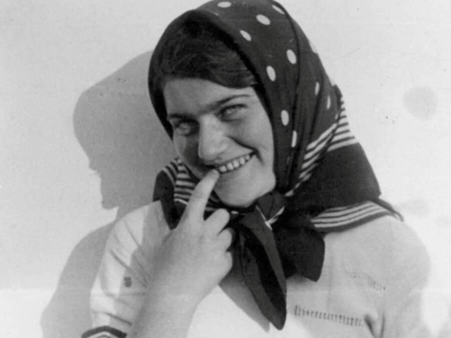 Renia Spiegel Smiling