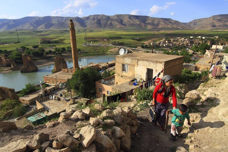 Residents Of Hasankeyf