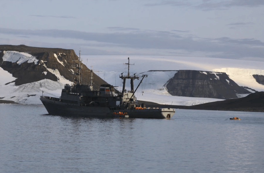 Russian Naval Boat Altai