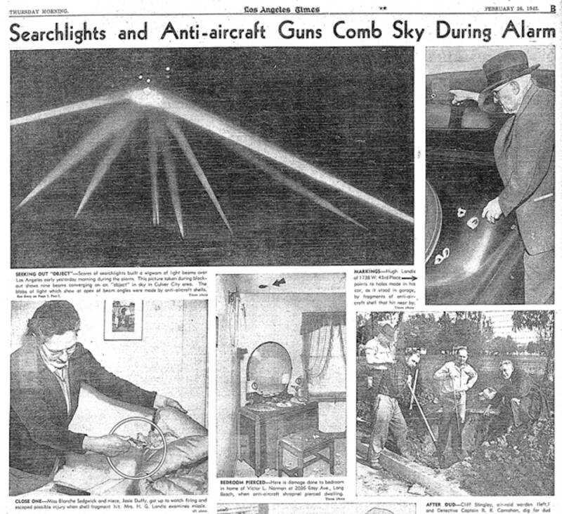 Scenes From The Battle Of Los Angeles