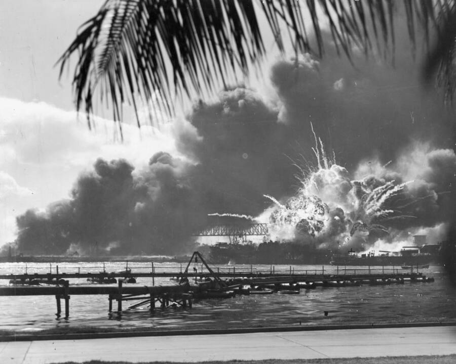 Shaw The Pearl Harbor Attack