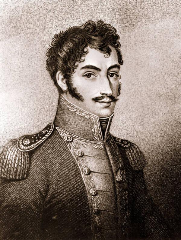 A Young Simon Bolivar