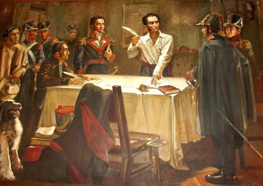 Signing The Death War Decree