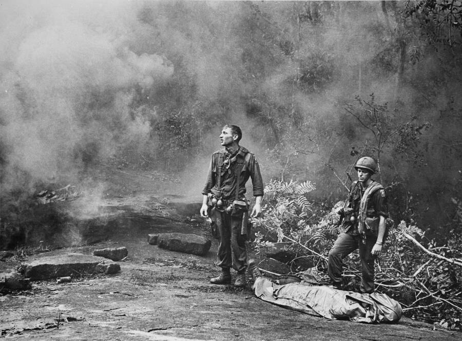 Soldiers In Combat In 1966