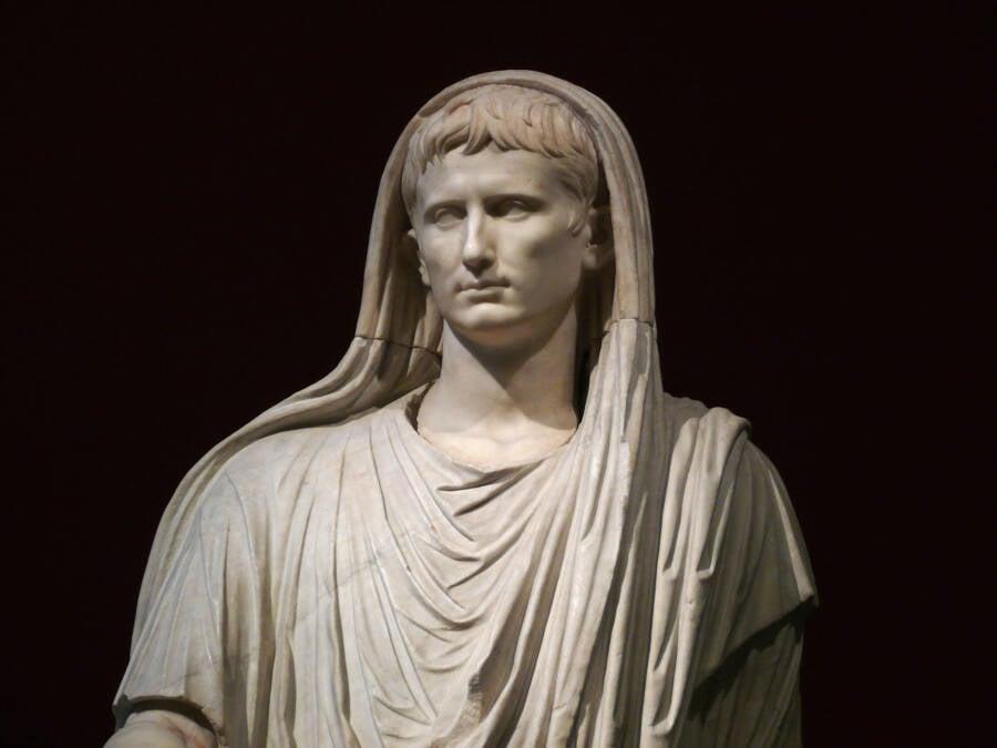 Statue Of Octavian The Emperor Augustus