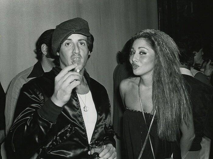 Sylvester Stallone At Studio 54