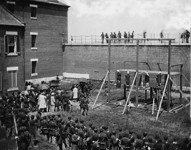 The Execution Of Lincoln Assassination Conspirators
