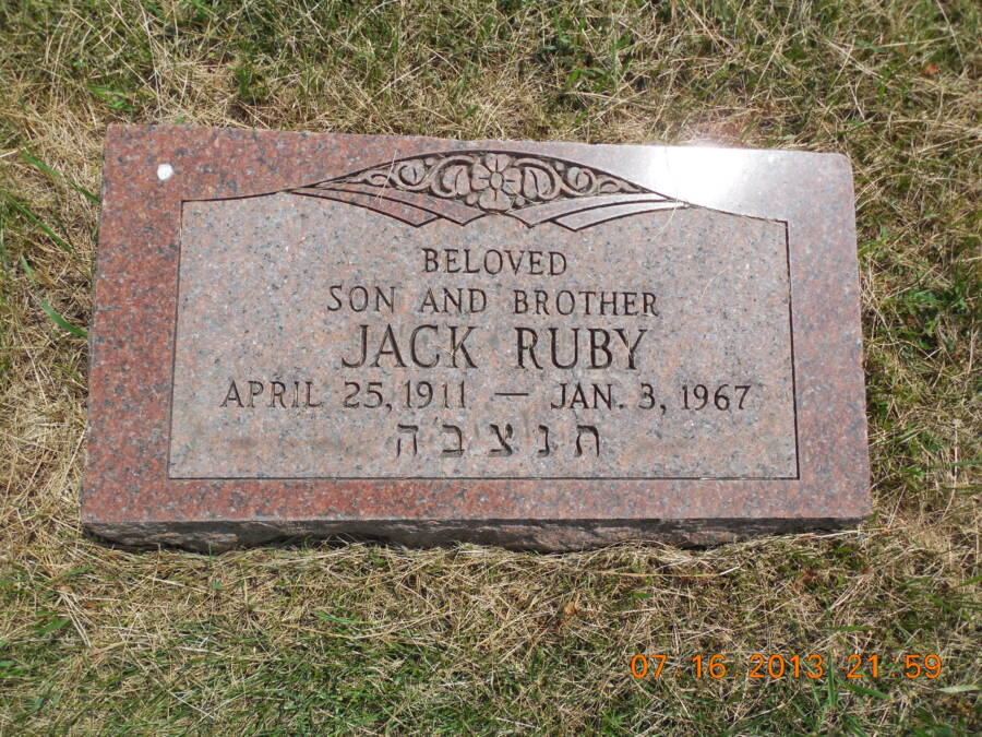 The Grave Of Jack Ruby