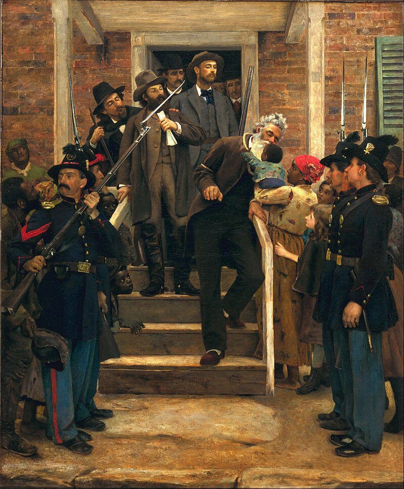 Painting Of John Brown's Final Moments