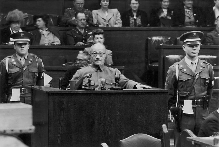 Tojo At War Crimes Trial