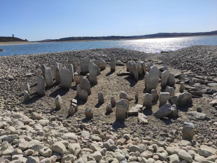 Uncovered Dolmen De Guadalperal