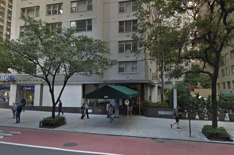 Upper East Side Burglarly Crime Scene