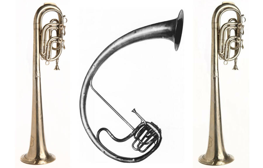 Various Saxophones Invented By Adolphe Sax